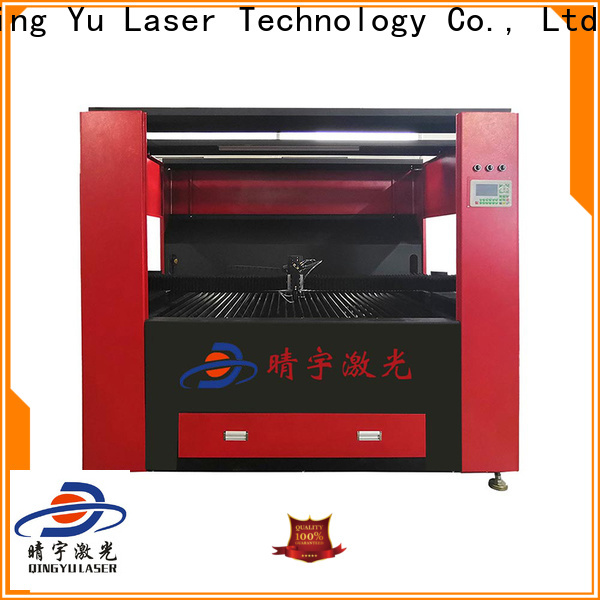 Qingyu reliable laser cutting machine promotion for glass