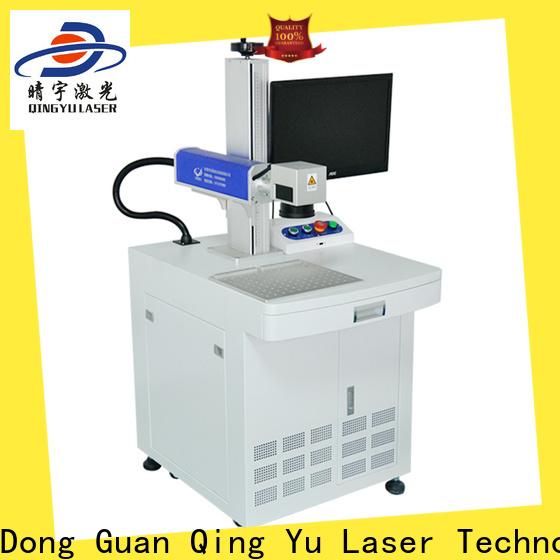 Qingyu laser marking equipment manufacturer for cloth