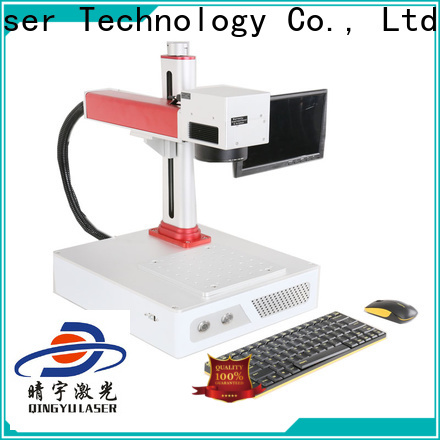Qingyu laser marking machine cost customized for meter