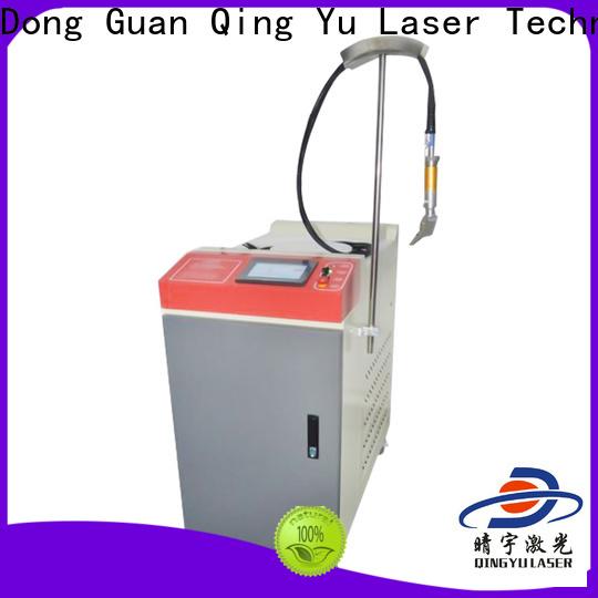 Qingyu laser welding equipment low energy consumption for flat weld welding
