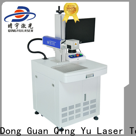 Qingyu laser marking companies manufacturer for beverage
