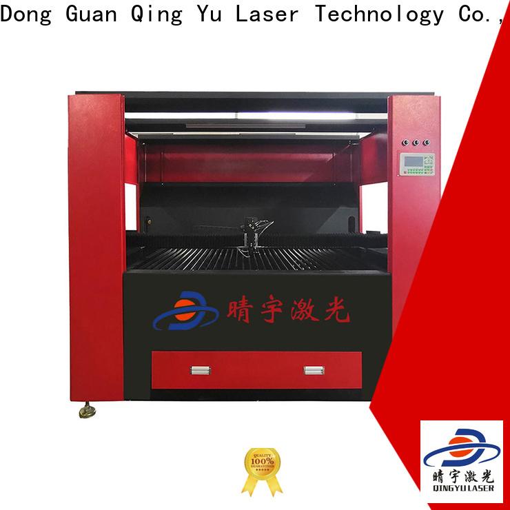Qingyu wood laser engraving machine manufacturer for wood