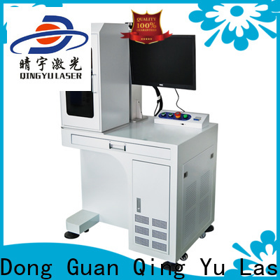 high precise laser marking machine cost supplier for food
