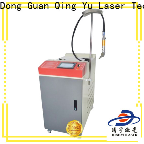 Qingyu long lasting laser welding machine low energy consumption for flat weld welding