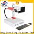 Qingyu high speed laser marking machine manufacturers series for meter