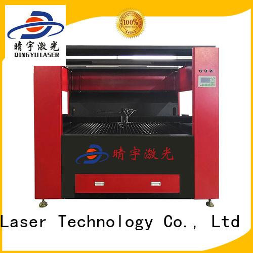 Qingyu laser cutting machine promotion for wood