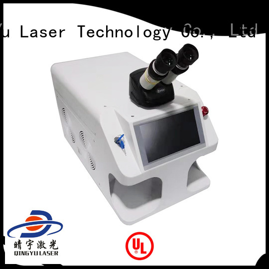 Qingyu professional laser welding machine factory price for flat weld welding