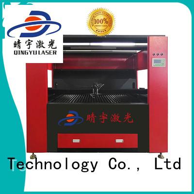 Qingyu laser engraving machine manufacturer for wood
