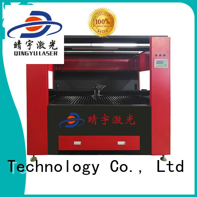 Qingyu high speed laser engraving machine directly sale for wood