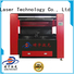 Qingyu laser engraving machine promotion for leather
