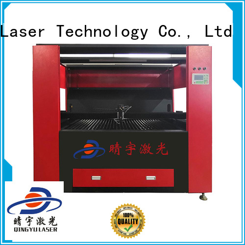 Qingyu laser engraver directly sale for rubber
