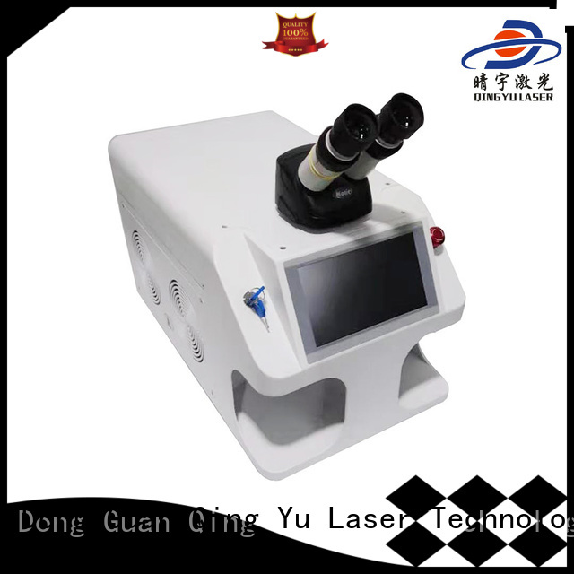 Qingyu long lasting best welding machine low energy consumption for outer right angle