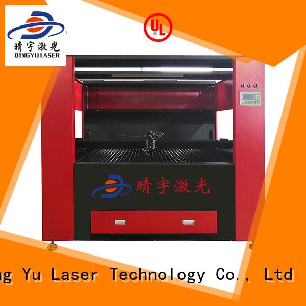 High-Speed CO2 laser cutting machine.