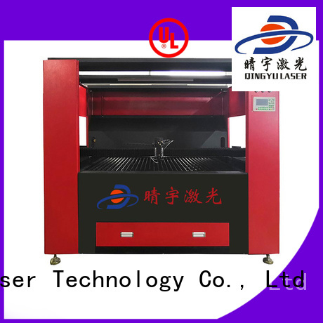 wood laser engraving machine factory price for wood Qingyu