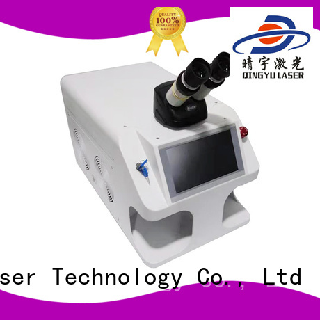 Qingyu efficient laser welder personalized for inner right angle