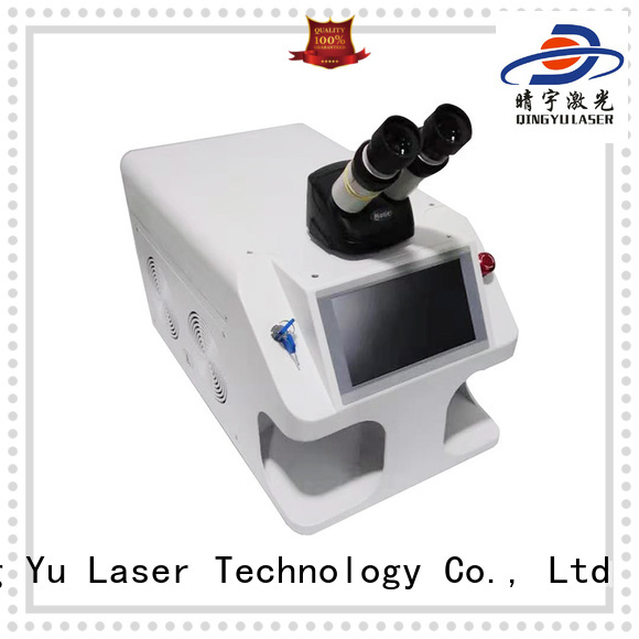 Qingyu professional laser welding equipment factory price for inner right angle