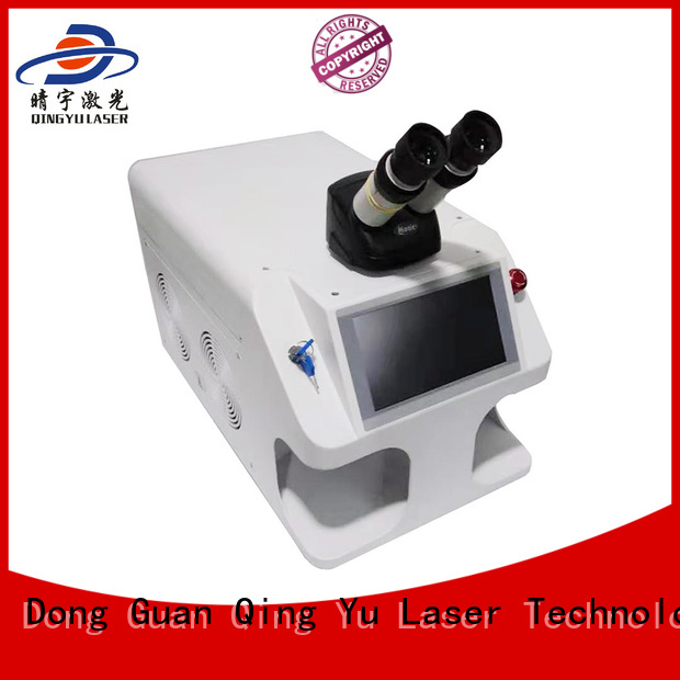 Qingyu long lasting laser welding equipment wholesale for inner right angle