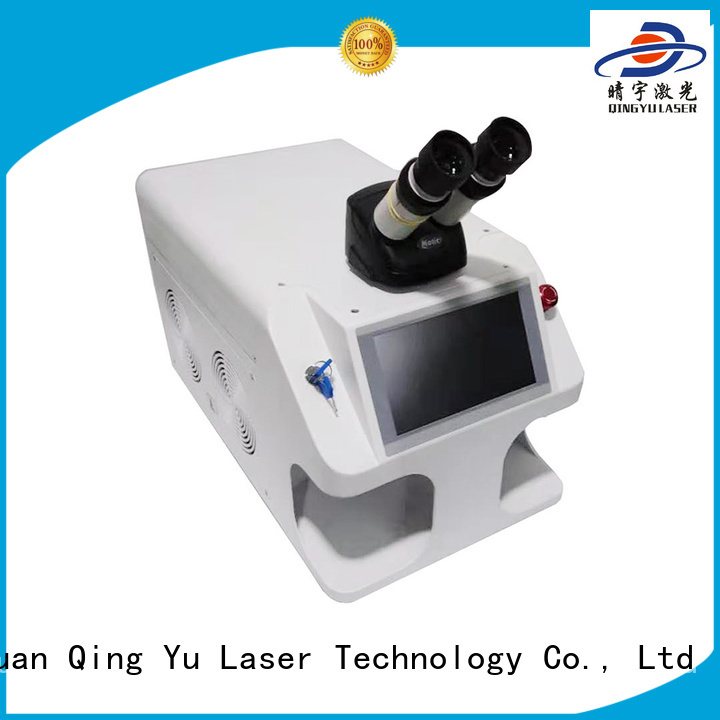 Qingyu efficient laser welder low energy consumption for flat weld welding