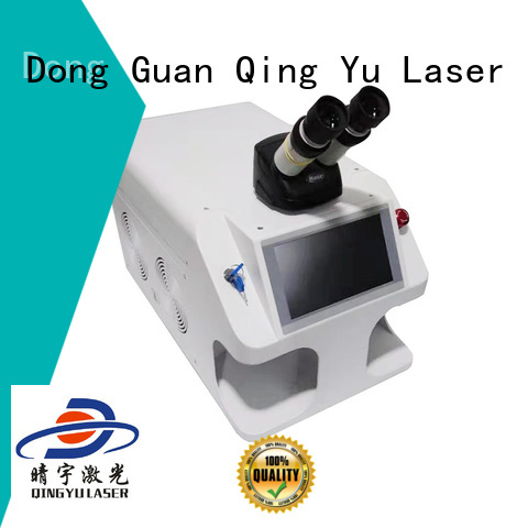 Qingyu efficient laser welding equipment factory price for outer right angle