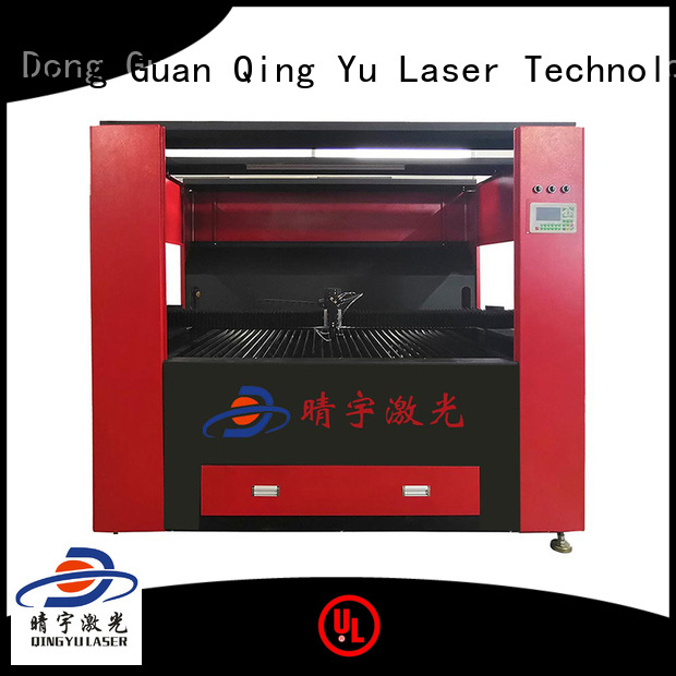 Qingyu durable high speed laser engraving machine factory price for stone