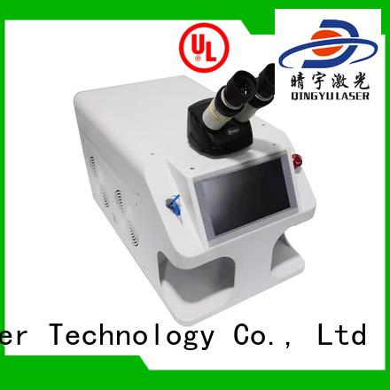 Qingyu stable laser welding equipment supplier for flat weld welding