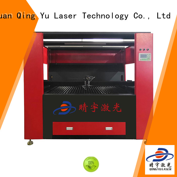 Qingyu durable laser cutting machine promotion for cards