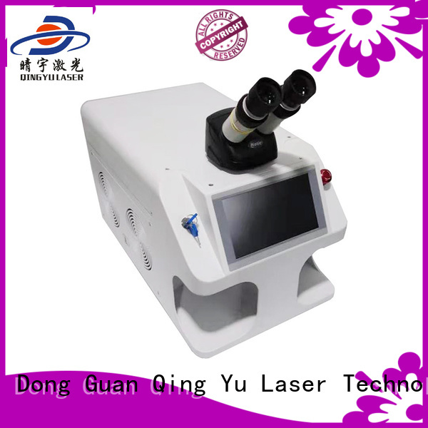 Qingyu stable best welding machine wholesale for inner right angle