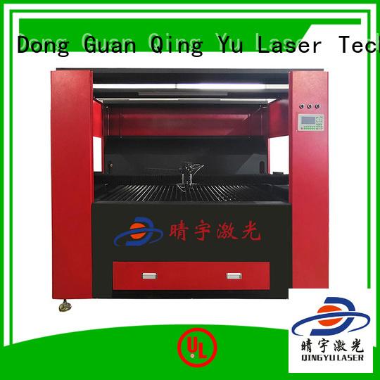 wood laser engraving machine promotion for wood Qingyu