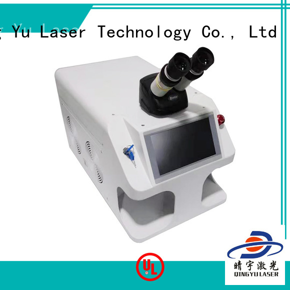 Qingyu laser welder wholesale for inner right angle